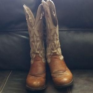 Tony Lama Tall Men's Buckaroo Cowboy Boots